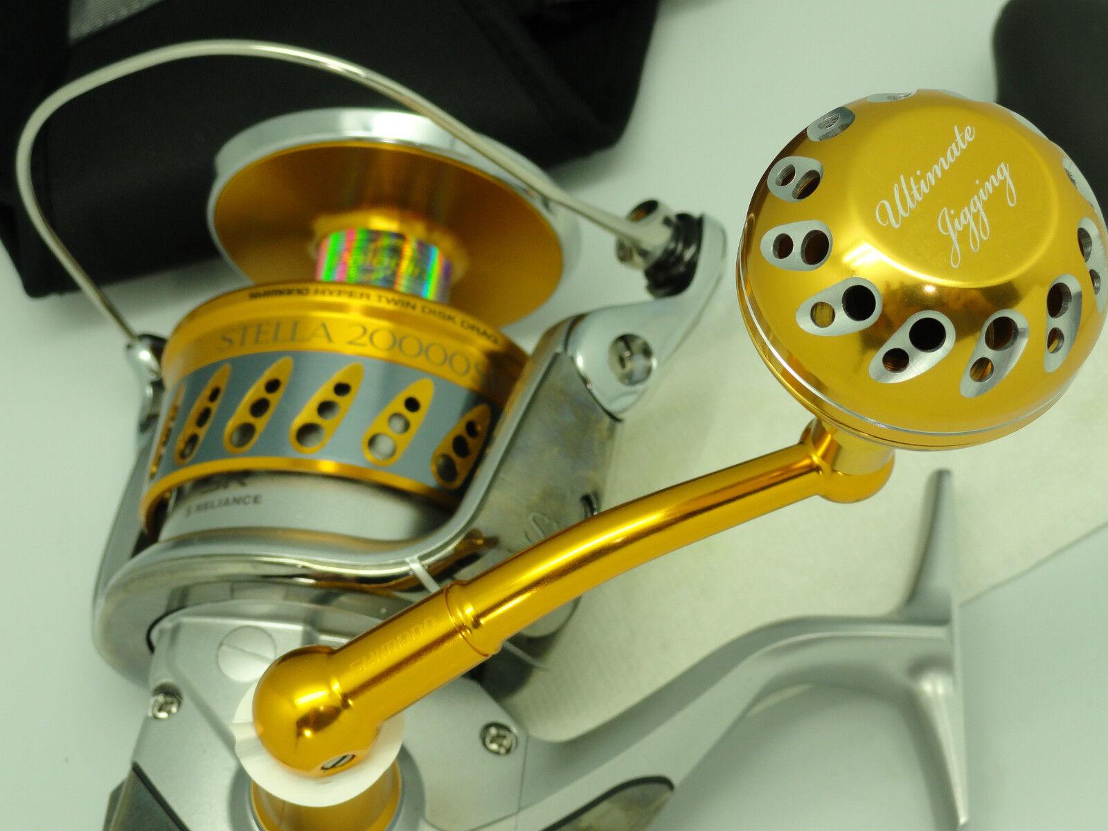 UJ PRK45 knob fits 08+ Shimano stella twinpower SW reel W  8mm bearing kit GD SV
