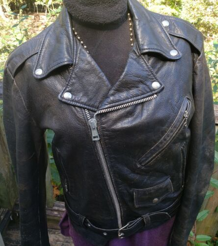 Vintage 70s 80s EXCELLED Leather Jacket 40