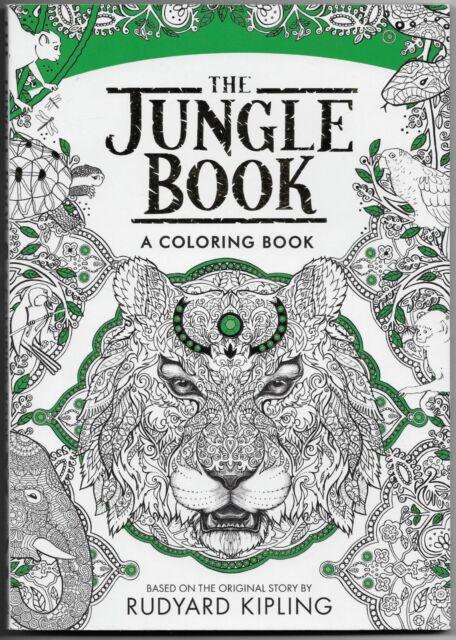 Disney\'s The Jungle Book a Coloring Book Rudyard Kipling