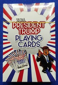 DONALD-TRUMP-PRESIDENT-1-DECK-PLAYING-CARDS-Poker-size-NEW-Ships-FREE