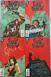 BATMAN-BANE-OF-THE-DEMON-1-4-VF-NM-LOT-1998-DC-COMICS