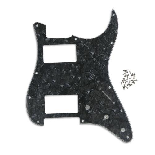 ST HH Humbucker Schlagbrett 11 Löcher Kratzplatte Schrauben für Strat Gitarre