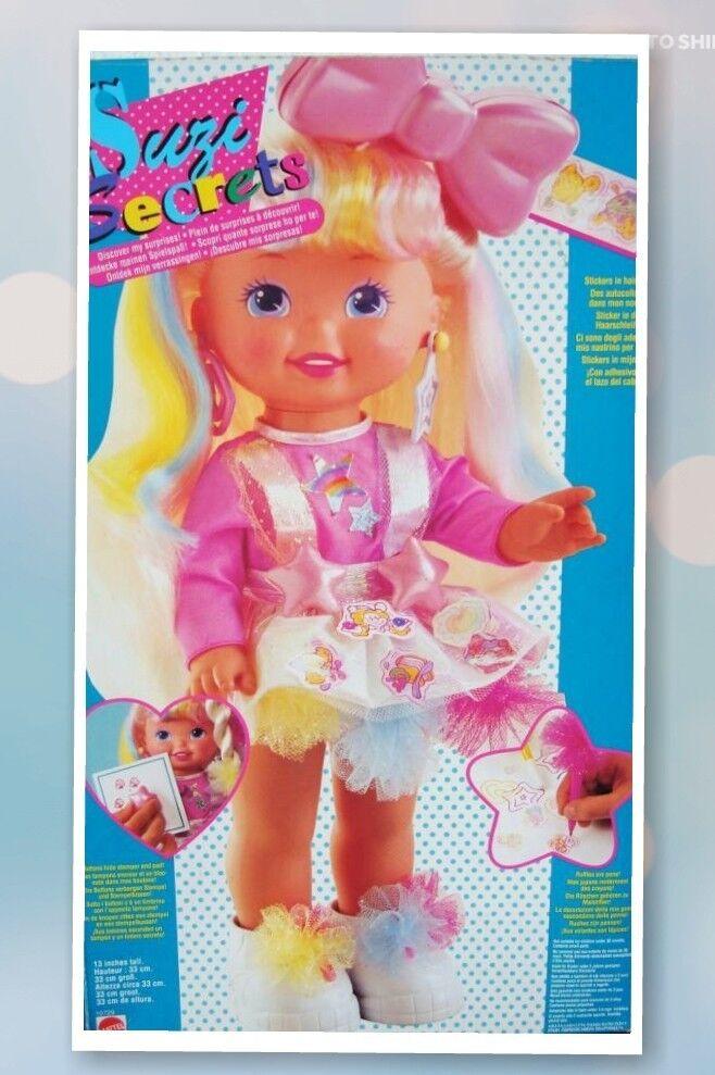 Suzi Secrets Puppe MATTEL 1992 Penny Suzy Penni Susi neu lil miss sally rar DOLL