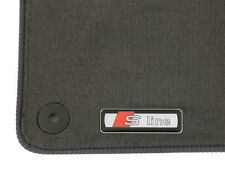 Audi A1 S Line 10 On Tailored Performance Velour Car Mats Grey
