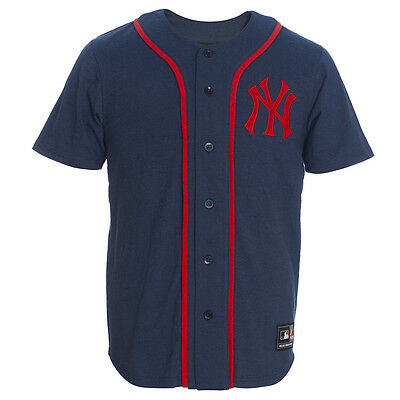Majestic MLB New York Yankees Lipman Players Jersey Tee NEW A1NYY6022NVY012 man