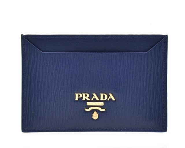vari colori taglia 40 piuttosto fico PRADA Wallet Card Case Portamonete Vitello Move Leather Orange for ...
