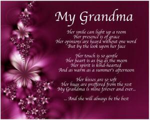Personalised-My-Grandma-Poem-Mothers-Day-Birthday-Christmas-Gift-Present