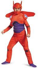 Baymax Red Robot Big Hero 6 Movie Superhero Fancy Dress Halloween Child Costume  sc 1 st  eBay & Disney Big Hero 6 Red Baymax Deluxe Child Costume Medium 7-8 | eBay