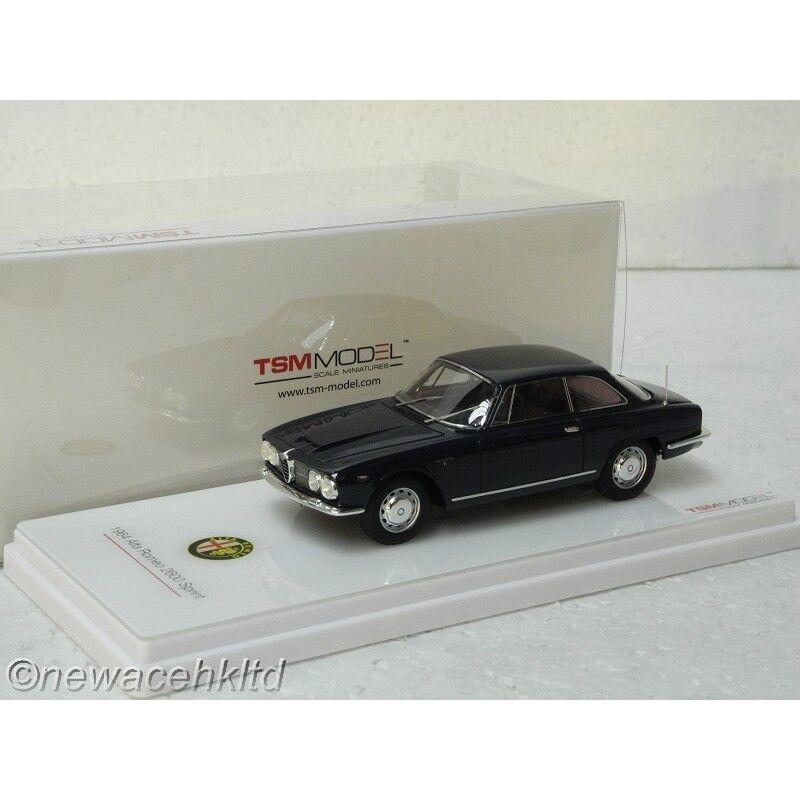 Alfa Romeo 2600 Sprint TSM blu Marino Modelo 1 43  TSM430139