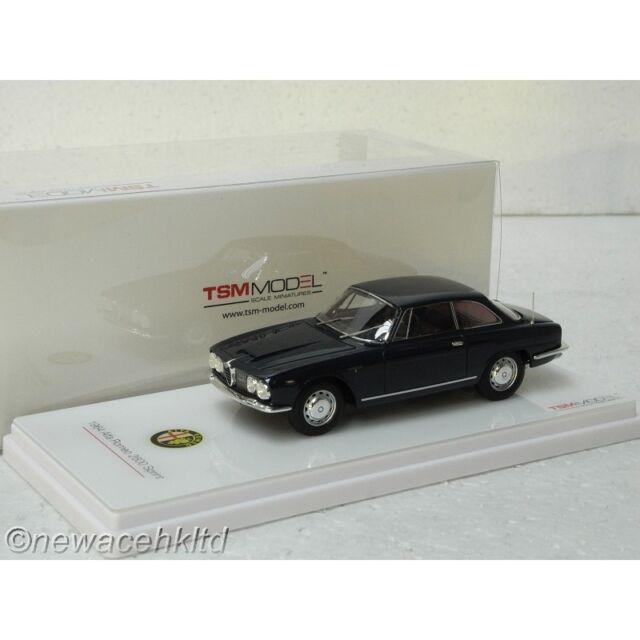 Alfa Romeo 2600 Sprint Navy Blue TSM MODEL 1/43 #TSM430139
