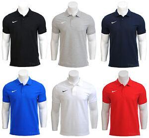 Mens-Nike-Dri-Fit-Cotton-Polo-Football-Gym-Golf-Team-T-Shirt-Top-S-M-L-XL-XXL