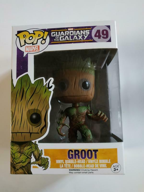 Figurine Funko POP  Marvel Guardians of the Galaxy 49 Groot