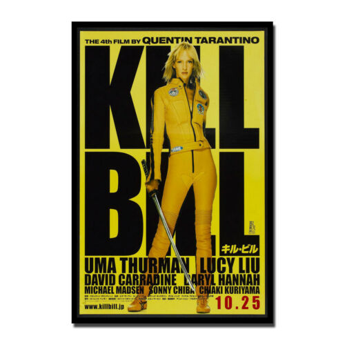 Kill Bill Movie Art Silk Poster Rockin Jelly Bean Mondo 13x20 24x36 inch