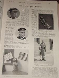 1898 Admiral Von Fleet 4TH Ghurkas Radfahrer Marineblau Cordelia