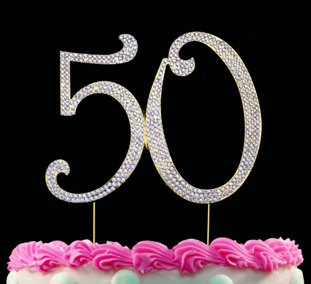 Cool Birthday Crystal Cake Toppers Sparkling Bling Birthday Cake Funny Birthday Cards Online Aboleapandamsfinfo
