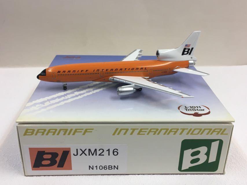 Jet-X 1:400 Braniff Internation Tristar L-1011 arancia Jellybean JXM216 N106BN
