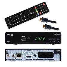 HD set récepteur satellite WWIO Trinity PRO PVR USB HDMI LAN Numérique Xoro 8660