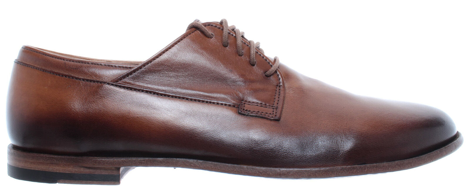 Pantanetti Mens zapatos 12612G Length Leather marrón Made in  New
