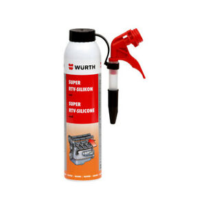 Details about Wurth Super RTV Red Silicone Adhesive Gasket Maker Sealant  High Temp 200ml