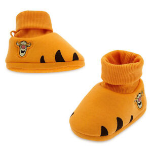 NWT-Disney-Store-Tigger-Winnie-the-Pooh-Baby-Costume-Shoes-Size-0-6-12-18-24-Mo