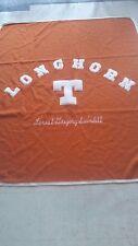 "Texas Longhorns ""Forest Gregory Swindell"" Letterman Blanket"