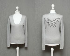 Zadig-amp-Voltaire-Women-s-Sina-Bis-SC-Silk-Cashmere-Butterfly-Jumper-Top-Size-S