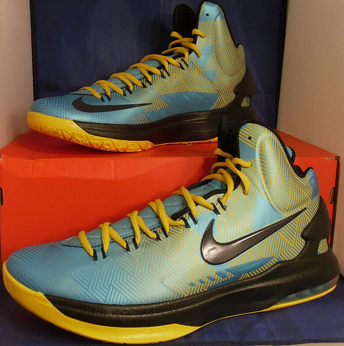 2018 Nike KD V 5 N7 Golden State Warriors Kevin Durant Price reduction Cheap and beautiful fashion