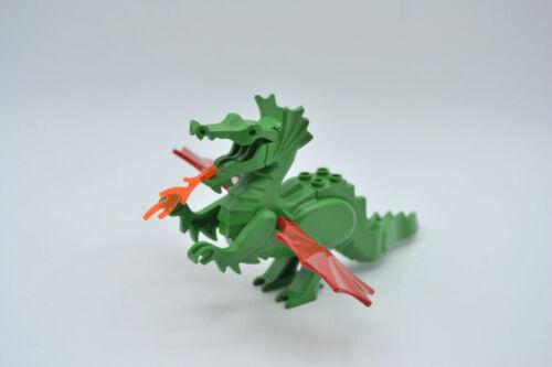 Lego dragón verde alas rojo Green Dragon Classic with red wings 6129c03
