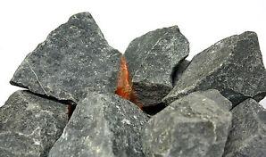 25kg 5-8 cm Saunasteine vom Königsstuhl Diabas Steine Saunastein Premiumqualität