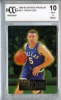 1994/95 Skybox Premium 221 Jason Kidd Rookie Beckett 10 Mint