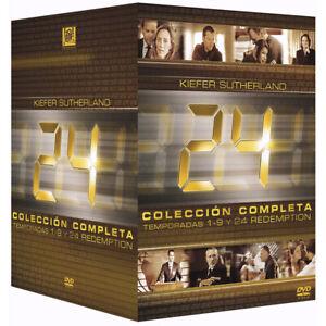 Serie-24-Completa-Original-en-Espanol-Temporadas-1-9-24-Redemption-en-DVD