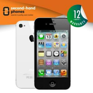 Apple-iPhone-4S-8GB-16GB-32GB-64GB-Unlocked-SIM-FREE-Smartphone-Black-White