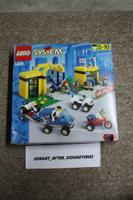 Vintage LEGO City 6426 Super Cycle Center NEW SEALED 1998 Box Damage