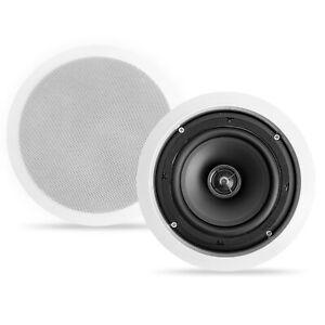 "NEW CT SOUNDS BIO 6.5"" 2-WAY WEATHERPROOF IN-CEILING SPEAKERS - HOME THEATHER"