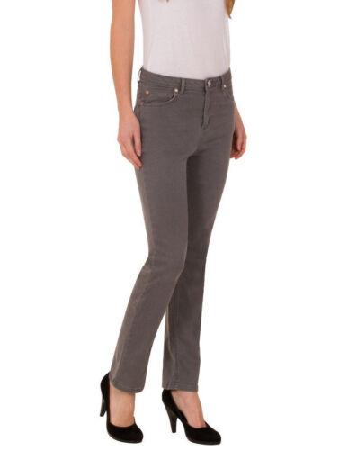 NUOVO MARKS SPENCER M/&S UNA scolpire /& PER LIFT ROMA Rise Slim Grigio Jeans UK 6 8 S L