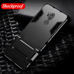 the best attitude dfc02 0298f Details about For LG G7 ThinQ G6 Q6 V30 Plus K8 K10 Hybrid Armor Shockproof  Case Stand Cover
