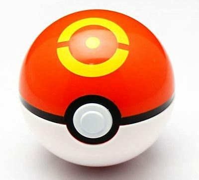 """1pc Pokemon 2.5/"""" Sports Ball Pokeball Orange Yellow with Pikachu USA Shipper"""