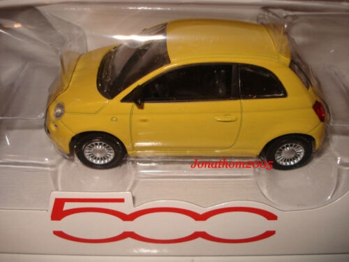 NOREV FIAT 500 TROPICALIA YELLOW au 1//43°