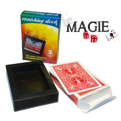 Disparition d'un paquet de cartes Bicycle - Vanishing Deck - Tour de magie