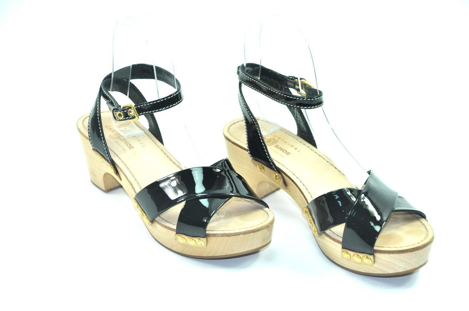 Car schuhe Damen Sandale Sandalette Pantolette Gr. 38,5 Nr. 9-H 3008