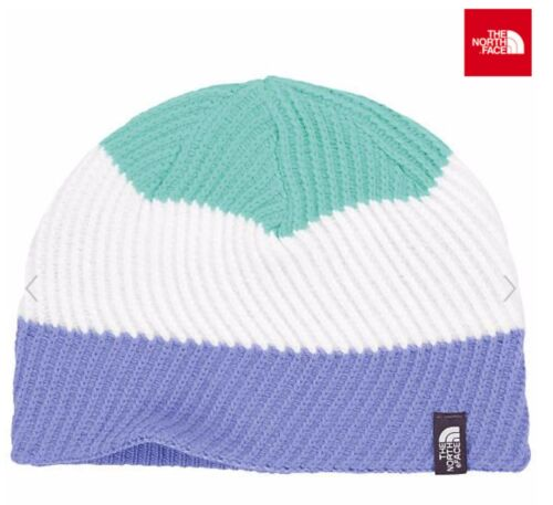 NEW THE NORTH FACE YOUTH GONE WILD REVERSIBLE KNIT BEANIE CAP SIZE M