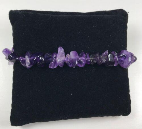 Pulsera De Piedras Preciosas Bolas De Chip De Cristal Curación Reiki Chakra de la nueva era