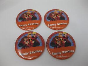 The Incredibles Family Reunion Button #70138