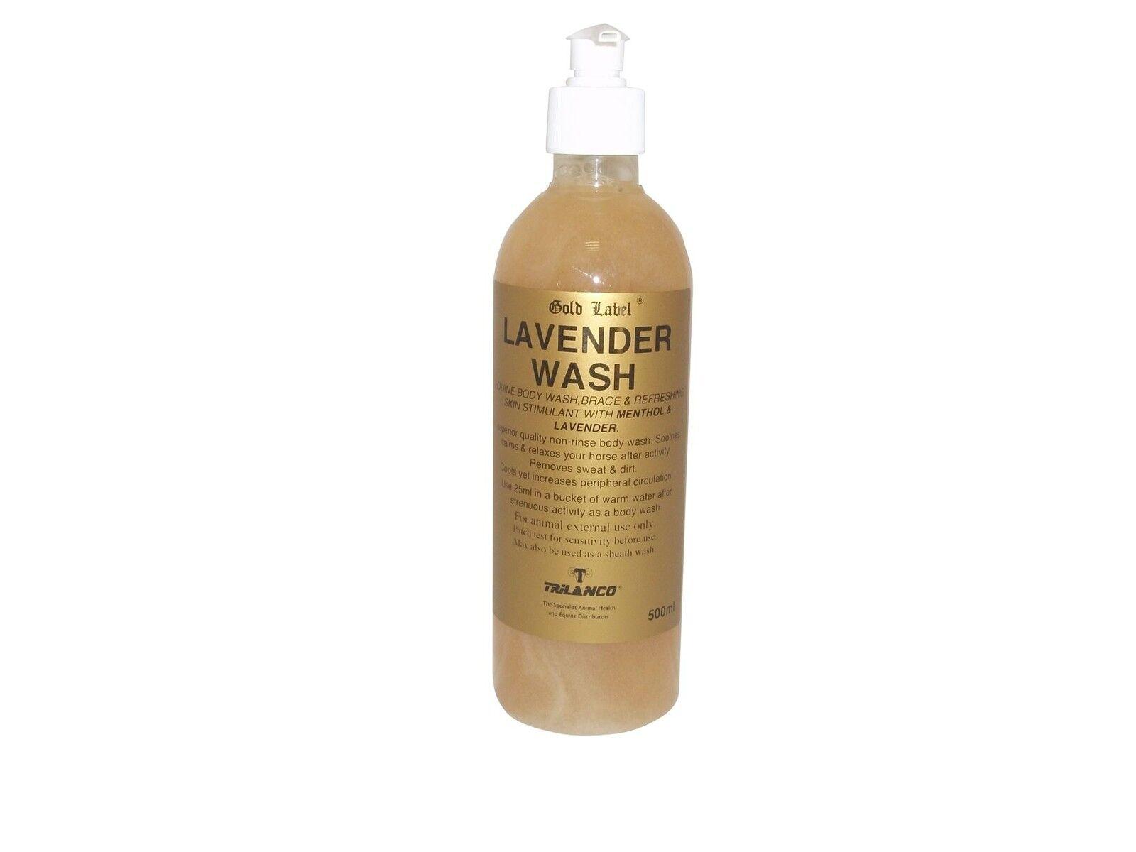 Gold LABEL LAVENDEL WASCH WASCH WASCH REITSPORT PFERD-BEIN & MUSKEL 6a3d9b