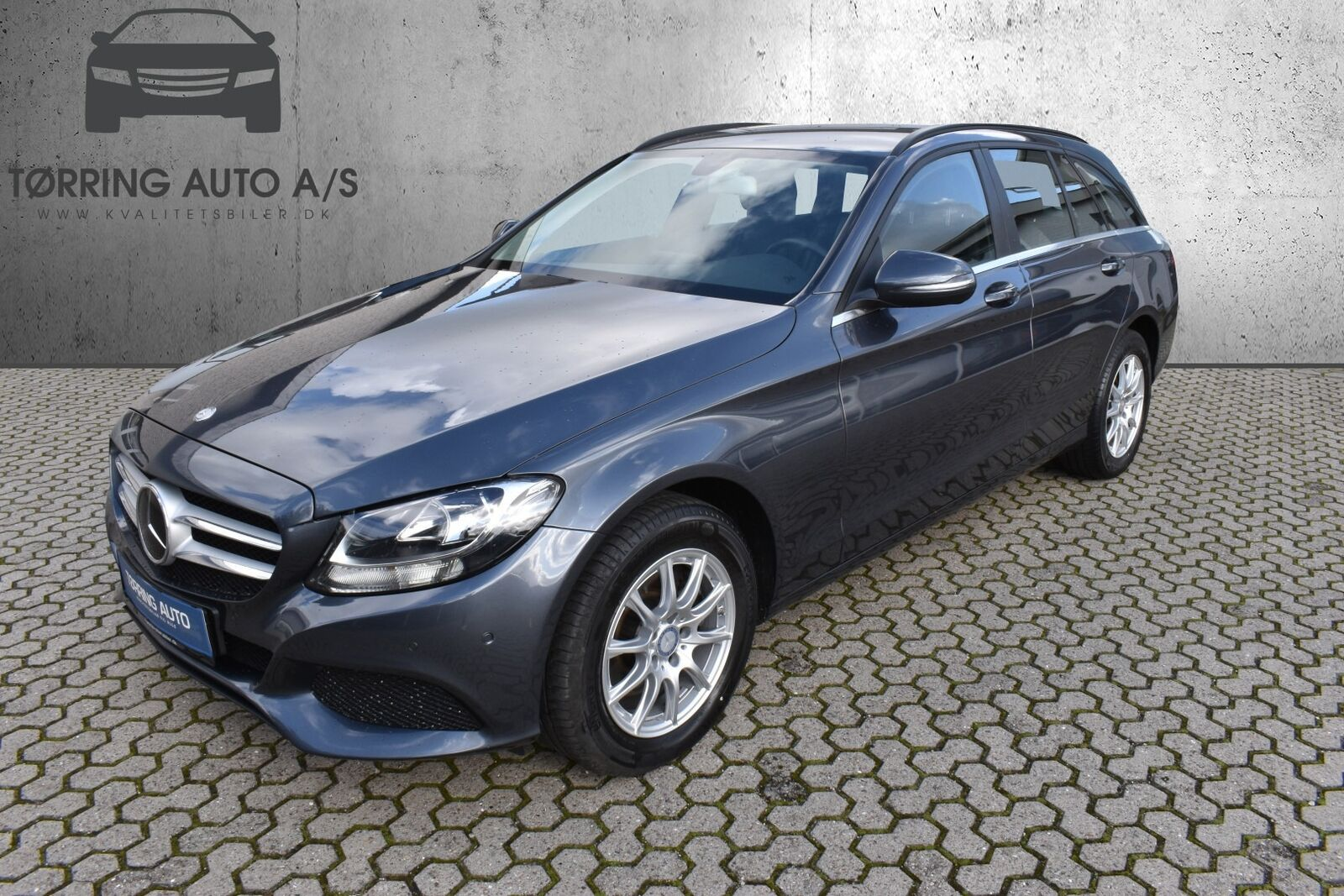 Mercedes C200 d 2,2 Business stc. aut. 5d