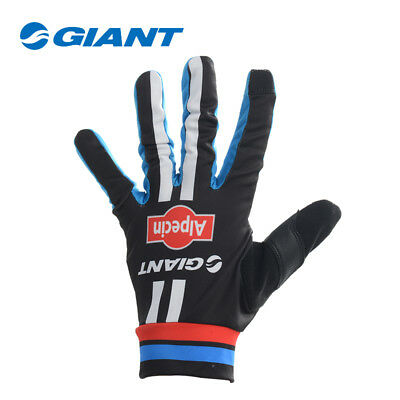 GIANT Cycling Gloves Alpecin Team Bicycle Bike Sports Cycle Full Finger Gloves
