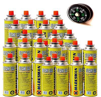 8x BUTANE GAS BOTTLES CANISTERS FOR COOKER HEATER BBQ