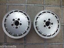 Mercedes W201 W124  2 Stück Alufelge Gullideckel 2014000702 5Jx14H2 ET50 14 Zoll
