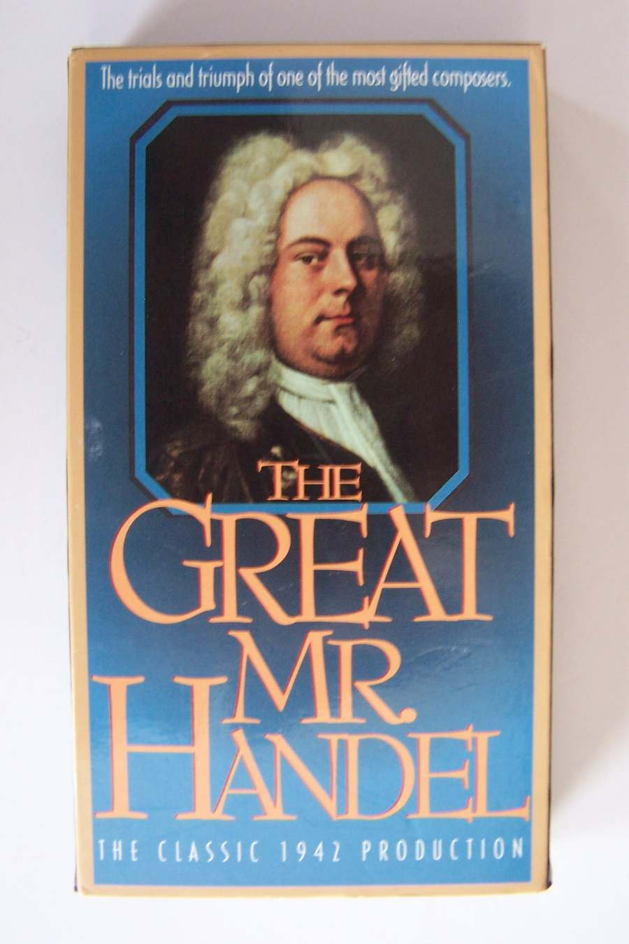 The Great Mr Handel VHS Video Tape Movie