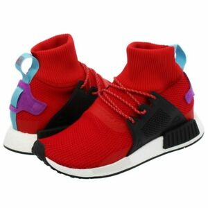 2fcebc8fbfced ADIDAS NMD XR1 WINTER RED Rare Men Running Shoes Boost Nomad BZ0632 ...